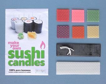 Sushi Candle Kit