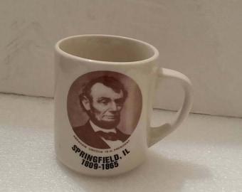Abe Lincoln  Ceramic Coffee Mug