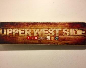 Upper West Side - 4x15 in.
