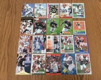 100 Cincinnati Bengals Football Cards