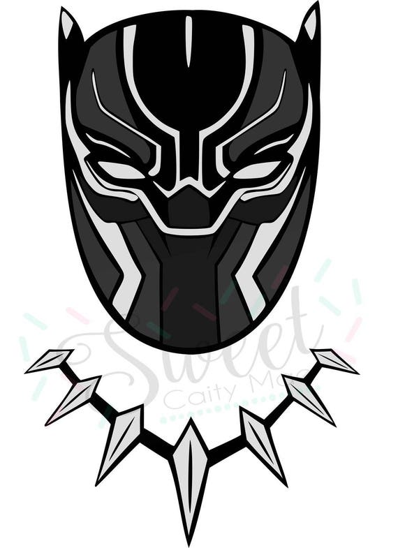Avengers Black Panther Marvel Cut File Cameo Projects