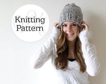 Knitting Pattern Hartford Hat Instant Download