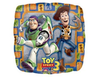 "18"" ToyStory3 Woody and Buzz foil balloon super hero party decoration"
