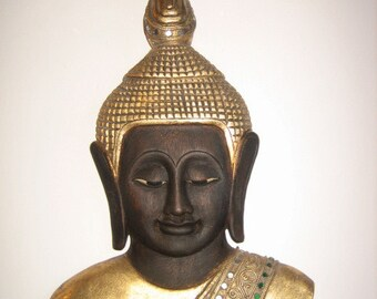 Quality Hand Carved Wooden Buddha Mask from Thailand