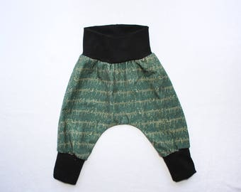 Baby Harem Pants 0-24 mos 2T-6 Lord of the rings Knit Pants Elvish Baby Harem Pants Infant Lord of the rings Baby Outfit Hobbit Costume LotR