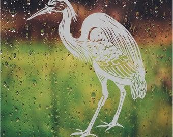Heron Ocean DIY Etched Glass Vinyl Privacy Film Glass Door Decals Sliding  Door Decal Door Stickers