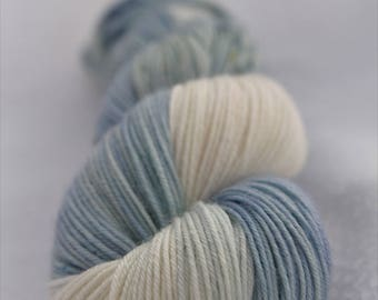 Hand-dyed yarn - sock yarn - superwash - merino - dyed-to-order - speckles - DIAMANT