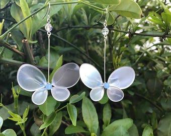 Resin Butterfly Earring