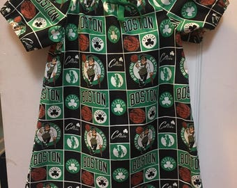 Boston Celtics peasant top
