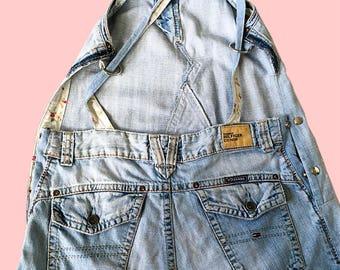 jeans dress 'dokjurk', loose fit, A-line shape, Tommy Hilfiger