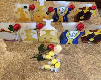 Rose Princess Character Treat Boxes