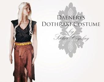Daenerys Dothraki costume - Costume Cosplay - Game of Thrones