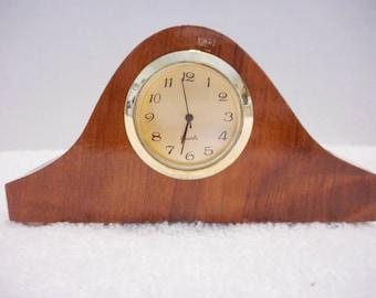 California Redwood Tambour Clock