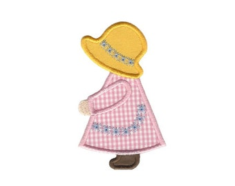 Sunbonnet Girl Applique