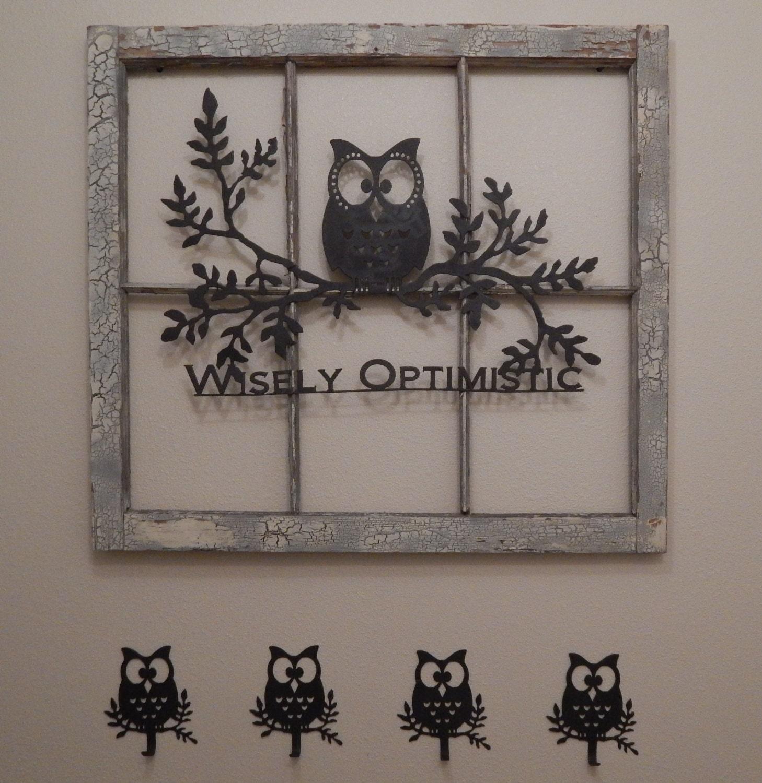 Owl wall hooks set of 3 owl decor coat rack towel rack bedroom