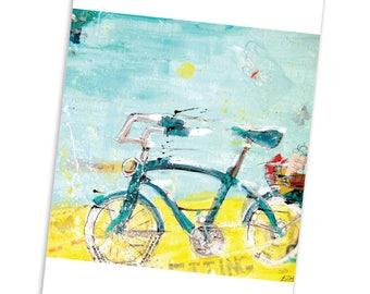 Bike Notecard Set | Blank Cards | Stationery | Kellie Day