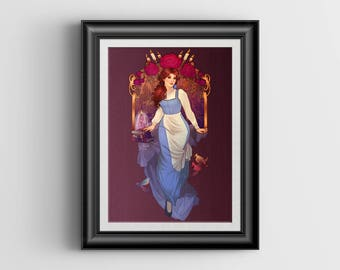 """A Tale As Old As Time - 4""""x6"""" Lustre Art Print"""