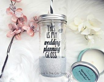 Wedding Coordinator Gift, Wedding Planner Gift, This is my wedding planning glass, Wedding Planner Tumbler, Wedding Coordinator Tumbler