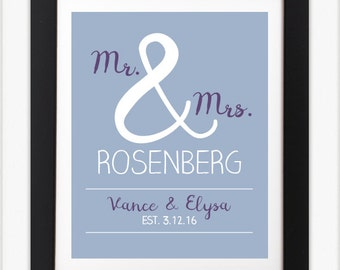 Wedding/Anniversary Sign: Digital File