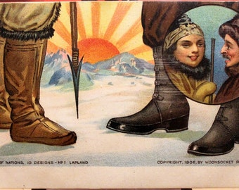 Lapland Shoes Etsy