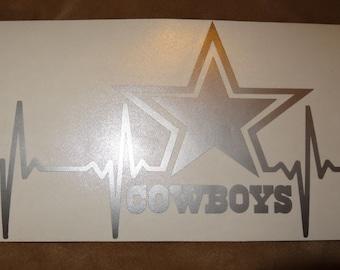 Dallas Cowboys Life Decal