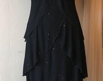 Vintage 70's/80's Holly Harp Dress