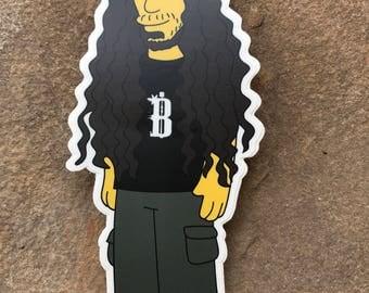 Simpsons Lorin v2 Sticker