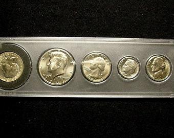 1981 D Birth Year US Coin Set #1062