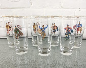 Libbey Glass Highlanders Series Beverage Glasses