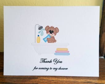 Baby Shower Thank You Card Set, Thank You Card Set, Baby Shower Thank You