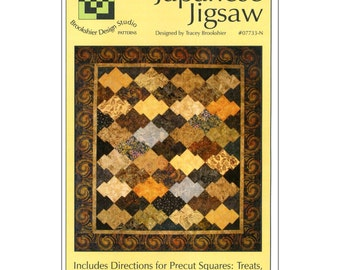 Japanese Jigsaw Quilt Pattern Plus,   by Tracey Brookshier of Brookshier Design Studio