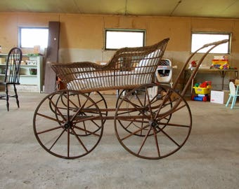 Baby Carriage from Civil War Era - ca 1860