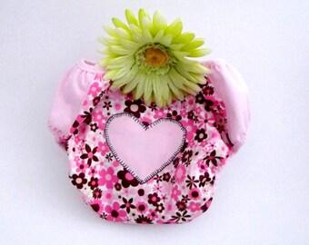 Valentines Day POTTY TRAINING Pants - Waterproof PUL -  Mod Girl Flowers