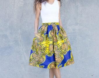 Valerie- Midi Skirt