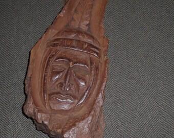 Vintage Canadian West Coast Native Carving , Larry Joseph Squamish B.C.