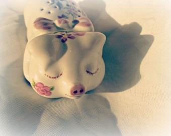 Vintage Pomander - Avon Pig