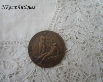 Antique medal 1914