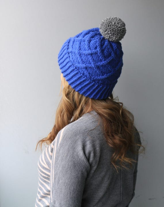 Knitting Circle Toronto : Pattern listing violet hat slouchy beanie toque