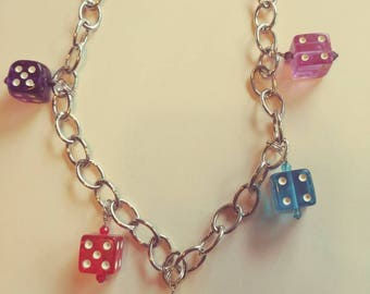 Throw of the Dice Necklace