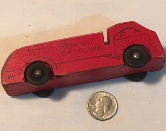 "Antique Toywood 5"" Gasoline Truck"