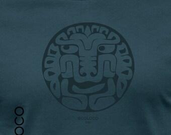 Amerindian Feline organic t shirt ecoLoco