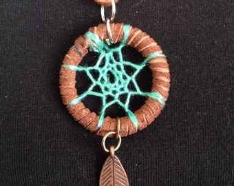 Seafoam Dreamcatcher Necklace