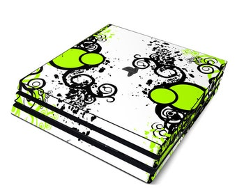 Sony PS4 Pro Skin Kit - Simply Green - Sticker Decal Wrap