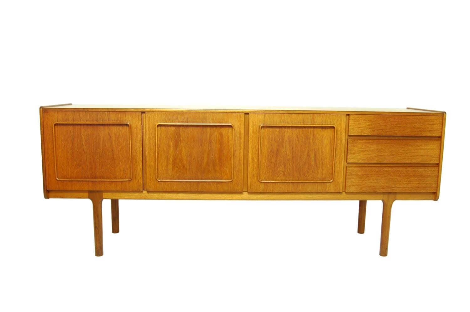 Mid Century Modern Mcintosh Credenza Or Media Console With