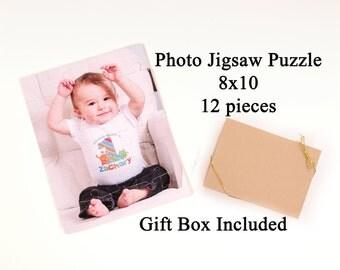 Personalized Photo Puzzle - 12 pieces - Photograph Puzzle