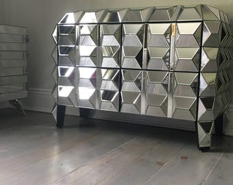 Awesome Punk Rock Faceted Cabinet