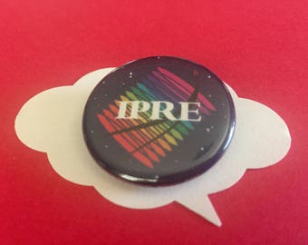 IPRE adventure zone pin | TAZ D&D logo button