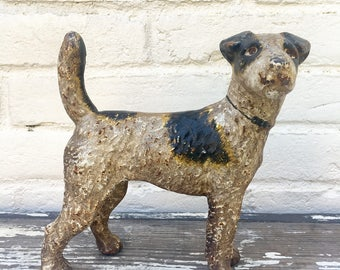 Cast Iron Dog Bank