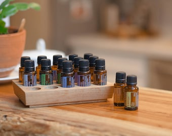 Oil Holder - Essential Oils - Young Living Holder - Doterra Holder - Oil Tray - Essential Oil Holder - Oil Gift - Gift for Wife - Mom Gift