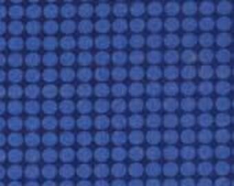 Michael Miller Blue Mirror Ball Dot D#DM2999--1/2 Yard